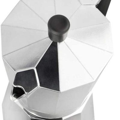 M MAGEFESA - Cafetera modelo KENIA de aluminio grueso - Pomo y Mangos ergonómicos de baketila toque frio