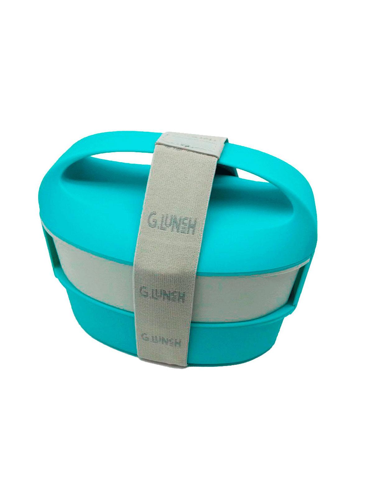 Fiambrera azul menajeando for Menaje hogar online
