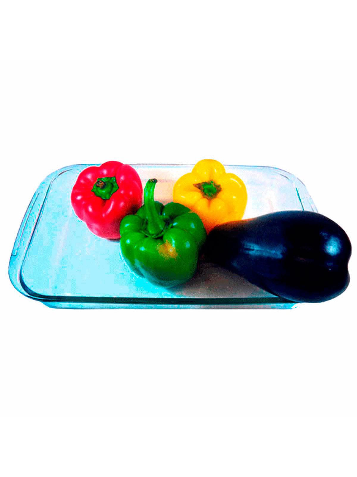 Ib480734 fuente cristal rectangular 4 comprar tienda for Menaje cocina online