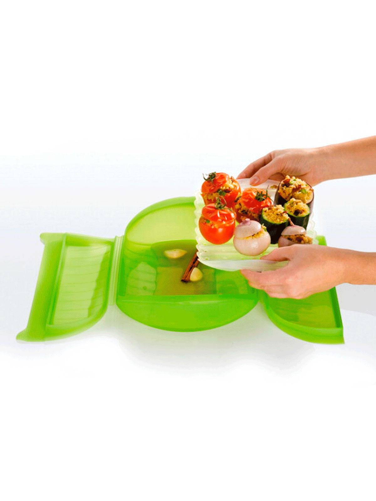 Lk3402600v09u004 estuche vapor lekue 2 grande menaje for Lista de menaje de cocina