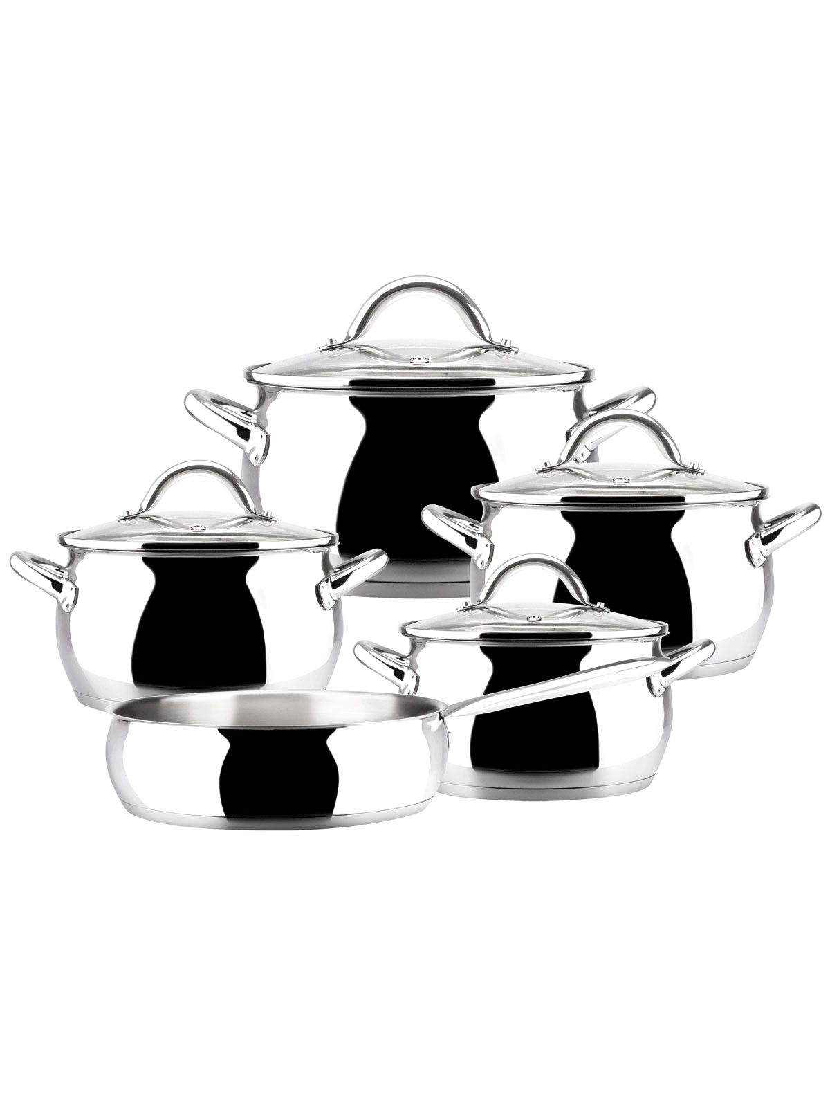 Bater a de cocina kuchen 9 piezas menajeando for Iber baterias de cocina