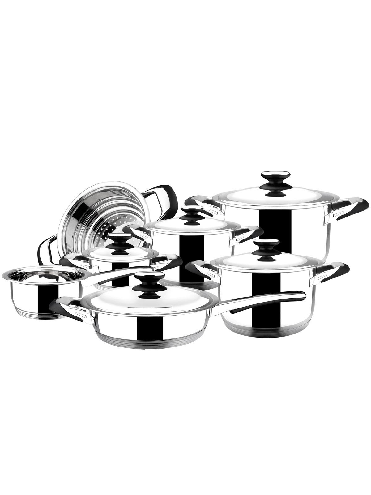 Bater a de cocina natura 12 piezas menajeando - Bateria de cocina solingen 12 piezas ...