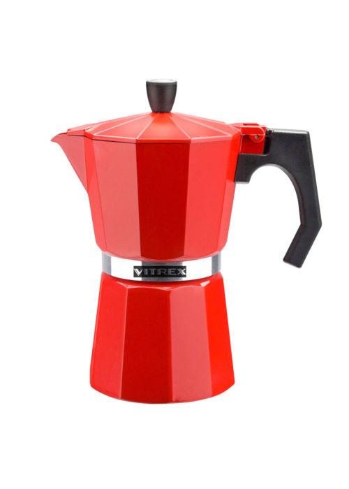 VX71PACFTRR6T CAFETERA TRADICION ROJO VITREX 1 COCINA UTENSILIOS MENAJEANDO