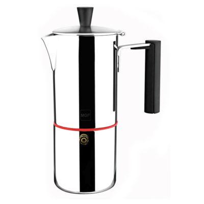 MAGEFESA NOVA CAPRI – La cafetera MAGEFESA NOVA CAPRI está fabricada en acero inoxidable 18/10, compatible con todo tipo de cocina. Fácil limpieza (4 TAZAS)