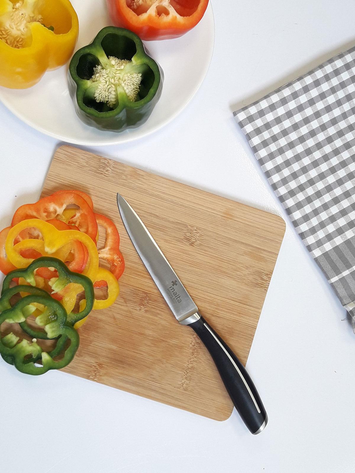 Cuchillo universal de cocina 13cm cruz de malta menajeando for Cuchillos cocina online