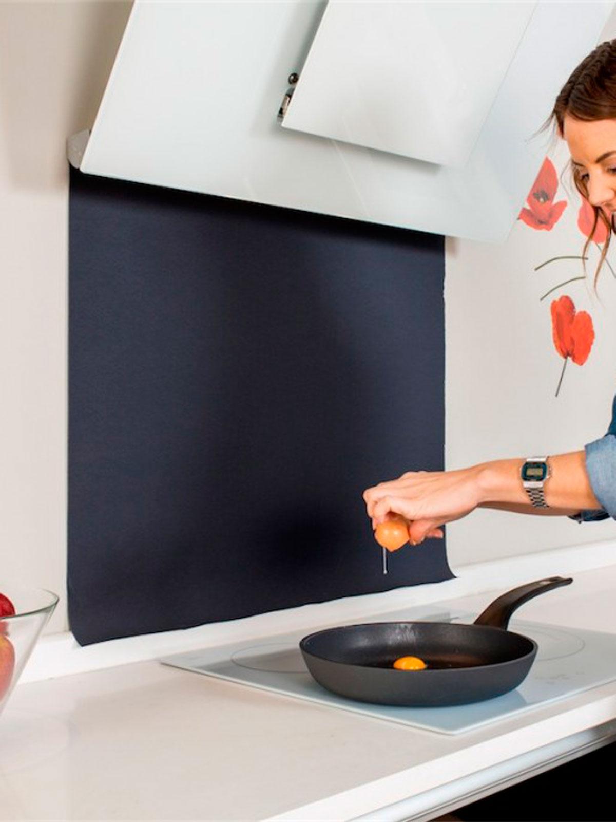 Protector contra salpicadoras cocina Protesalpic | Menajeando