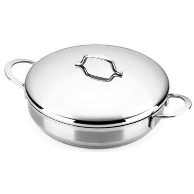 Tartera MAGEFESA MILENIUM – La Familia de Productos MAGEFESA MILENIUM está Fabricada en Acero Inoxidable 18/10, Compatible con Todo Tipo de Cocina. Fácil Limpieza y Apta lavavajillas