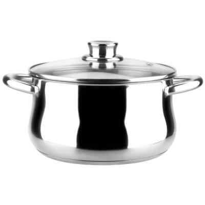 La olla MAGEFESA Ideal está Fabricada en Acero Inoxidable 18/10, Compatible con Todo Tipo de Fuego. Fácil Limpieza y Apta lavavajillas.