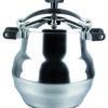 MAGEFESA ALUSTAR Olla a presión rápida, fácil uso. Fondo termo difusor, 3 sistemas de seguridad 22L