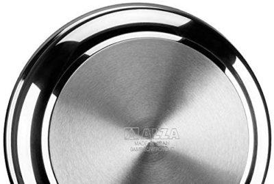 SARTÉN Alza Onyx. SARTÉN Fabricada en Acero Inoxidable 18/10, Antiadherente de 4 Capas, Apta para Todo Tipo de Cocina, INDUCCIÓN. Fácil Limpieza. Apto para lavavajillas.