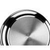 SARTÉN FREIDORA ALZA con cestillo. Fabricada en Acero Inoxidable, incluye cestillo INOX, Apta para Todo Tipo de Cocinas, Gas, Vitrocerámica, INDUCCIÓN. Fácil Limpieza. Apto para lavavajillas (20 cm)