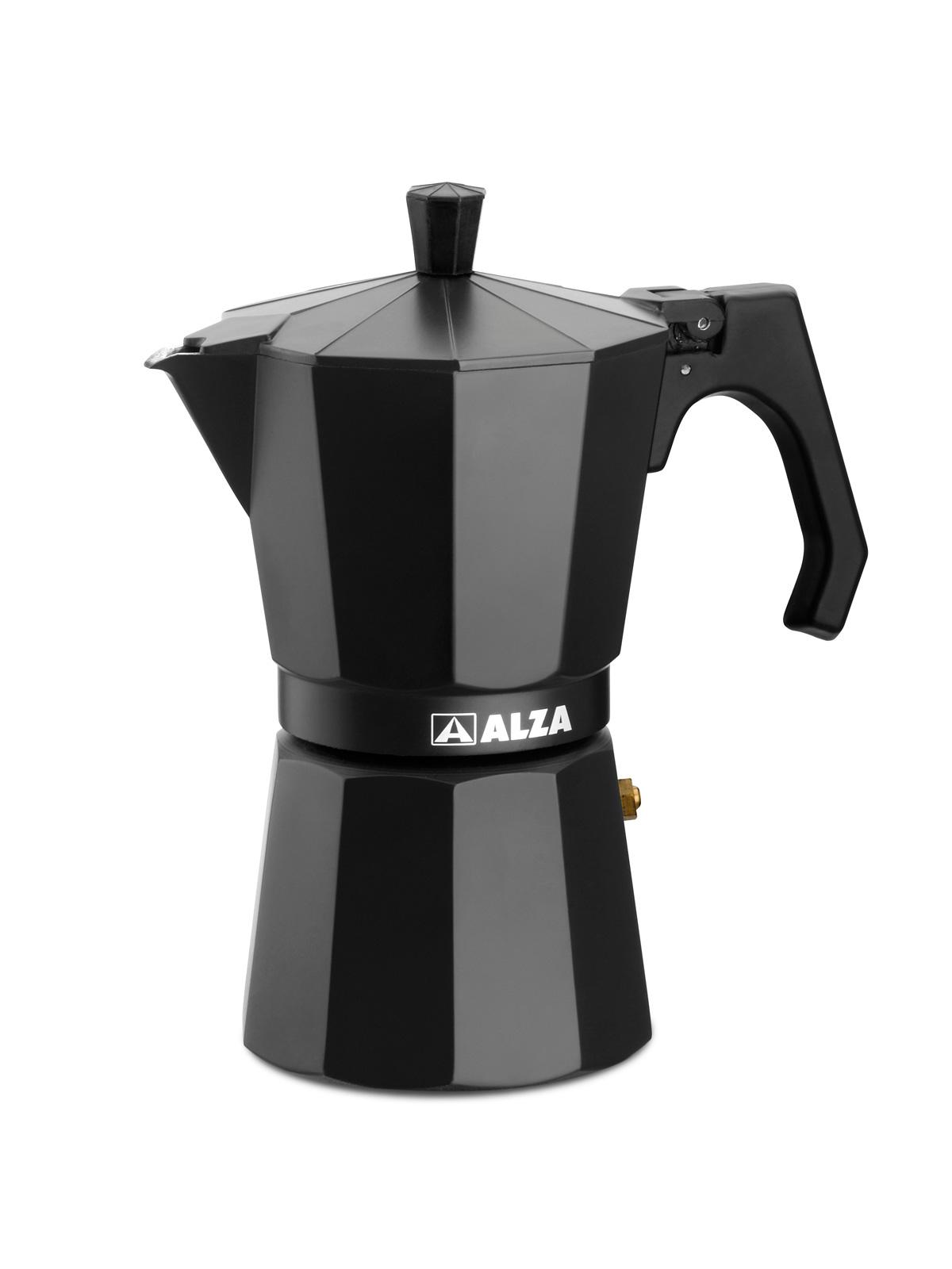 Luxe Red ALZA Cafetera moka o italiana 9 tazas v/álida para Inducci/ón