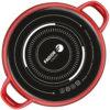 Fagor BATERIA OPTIMAX. batería Antiadherente Doble Capa, Acero esmaltado de 1,5mm de Espesor, Compatible con Toda Clase Cocina, inducción, cerquillo de Acero. Apta lavavajillas (BATERIA, 5 Piezas)