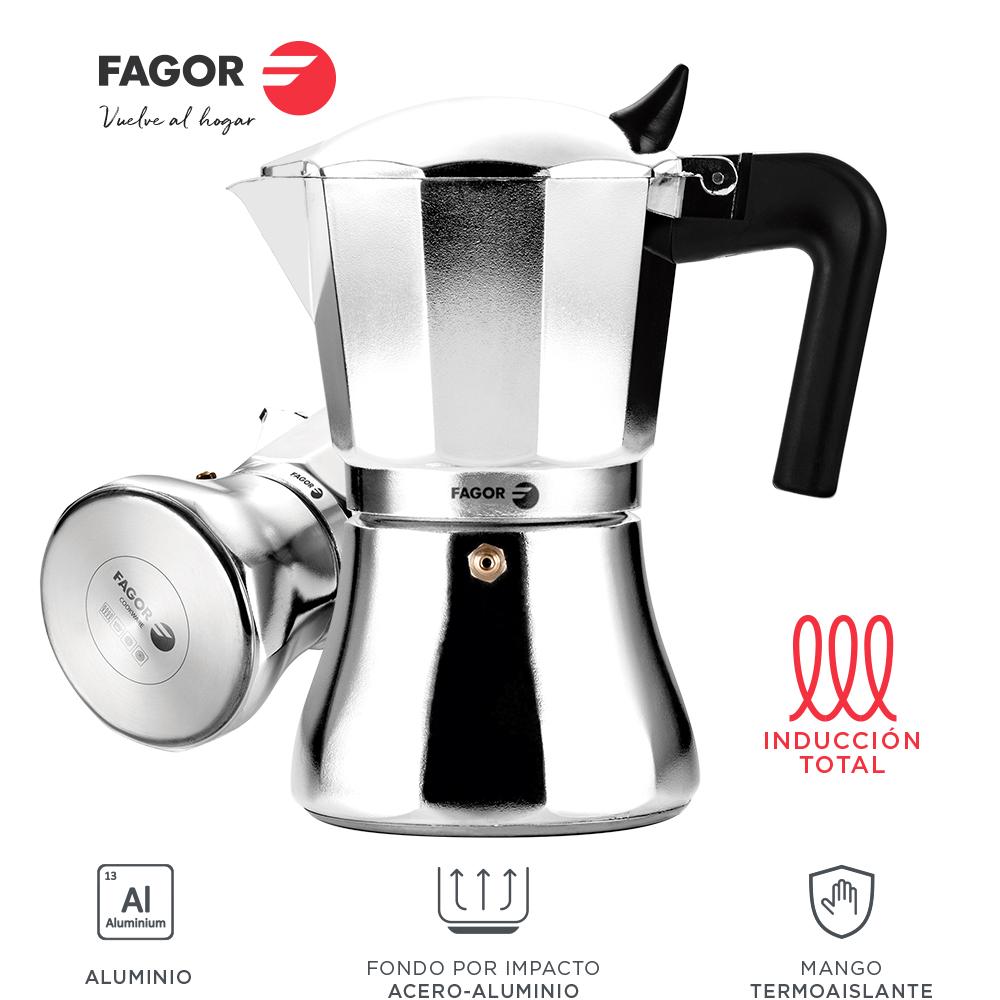 Fagor CUPY, cafetera compatible con inducción