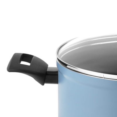 Fagor Olla OPTIMAX. Olla Antiadherente Doble Capa, Compatible con Toda Clase Cocina, inducción, cerquillo de Acero Inoxidable.