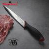 Cuchillos de cocina MAGEFESA ALVARO BARRIENTOS, Set 3 cuchillos PELADOR, UNIVERSAL, TRINCHADOR, Acero inoxidable de alta calidad, con mangos antideslizantes de fácil manejo.
