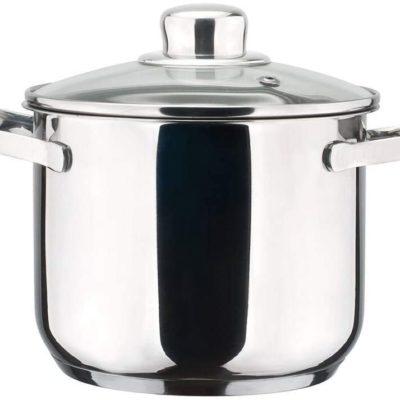 OLLA MAGEFESA Dux – La Familia de Productos MAGEFESA Dux está Fabricada en Acero Inoxidable 18/10, Compatible con Todo Tipo de Fuego. Fácil Limpieza y Apta lavavajillas.