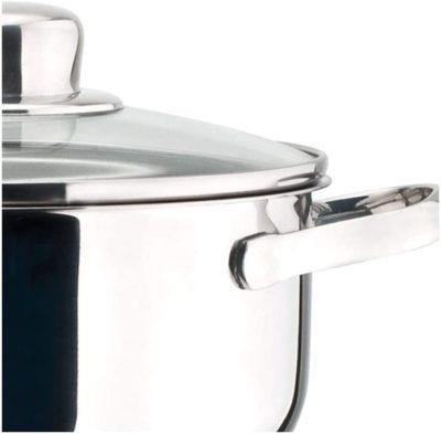 MAGEFESA Dux – La Familia de Productos MAGEFESA Dux está Fabricada en Acero Inoxidable 18/10, Compatible con Todo Tipo de Fuego. Fácil Limpieza y Apta lavavajillas.