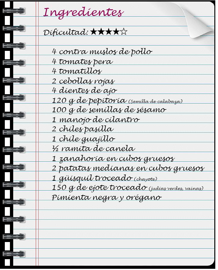 Pepián de pollo guatemalteco